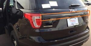 ✅ 2016-2019 Ford Explorer BLACK Tailgate CAMERA Trim Hatch Tail Gate Lift Strip