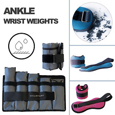 Ankle Wrist Weights Set Adjustable Gym Fitness Workout Running Lifting Exercise