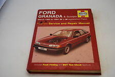 Ford Granada and Scorpio 1985-94 Service and Repair Manual (Haynes)