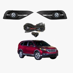 Fog Light Kit for Honda CR-V RM Series 2012-2014 W/Wiring&Switch