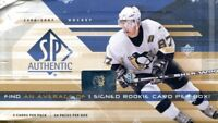 2006-07 Upper Deck SP Authentic Hockey Hobby Box