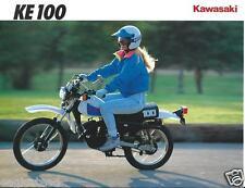Motorcycle Brochure - Kawasaki - KE100 - 1992  (DC400)