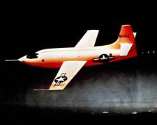 BELL X-1 CHUCK YEAGER SOUND BARRIER 8x10 SILVER HALIDE PHOTO PRINT