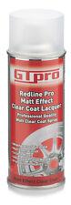 MATT CLEAR COAT SPRAY 400ML EXCLUSIVE MATT EFFECT LACQUER CLEAR GTPRO