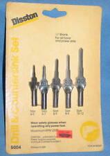 Vintage DISSTON Drill & Countersink Bit Set #5004 - NOS USA Woodworking Tool