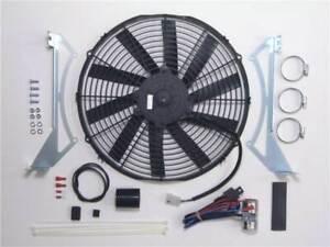 Revotec Electronic Cooling Fan Conversion Kit Triumph TR4A Negative Earth