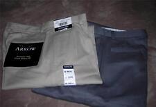 Arrow Boys Easy Care Pleated Dress Casual Pants~Navy,Tan or Gray~Ret.$32~NWT