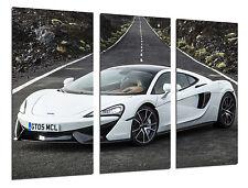 Cuadro Moderno Coche Deportivo, McLaren 570 GT, Blanco, ref. 26522