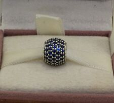 "AUTHENTIC PANDORA""Pavé lights, blue crystal, 791051NCB  #568"