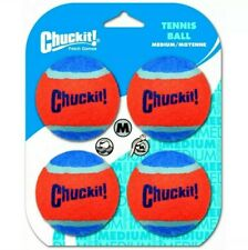 Chuckit! Tennis Balls Medium 4pk  (Free Shipping in USA)