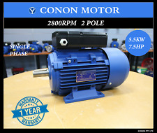5.5kw 7hp 2800rpm Reversible CSCR Electrical Motor Single-phase 240v