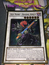 OCCASION Carte Yu Gi Oh AILE NOIRE - ARSENAL AERIEN GLD3-FR039