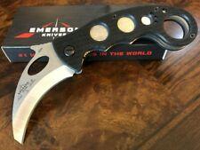 Emerson Knife Combat Karambit SF Stonewash Reinforced Tip Prestige Dealer