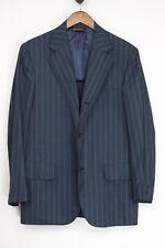 Southwick Hommes Costume 41R 32x31 Gris Rayure Laine 3 Rouleau 2 Veste Pantalon