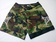Tapout Men's Mma Wrestling Fighting Shorts Camoflauge Drawstring Size 30