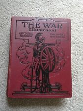 Vtg The War Illustrated Volume 2 , WW1 h/b with illustrations amalgamated press