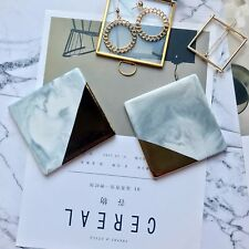 Marble Coasters Set of 2 Ceramic coasters Geometric Coasters gift choice