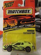 Matchbox Ferrari Testarossa #78 Yellow
