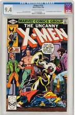 Uncanny X-Men # 132 CGC 9.4 Off-White to White Pages (1980) Marvel Comics G-142