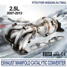 Exhaust Manifold Catalytic Converter For Nissan Altima 07-13 2.5L