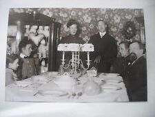 """Victorian 5"""" x 7"""" Glass Plate Negative  Holiday Fancy China Glass Dining room"""