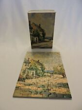 Tuco Puzzle Miniatures Seacoast Lane Vintage Picture Tripl-Thick Interlocking 88