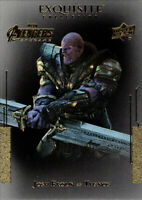 Marvel Avengers Endgame Exquisite Collection Black Achievement #2 Josh Brolin