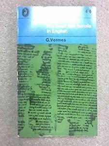 Dead Sea Scrolls in English Paperback Geza Vermes
