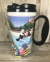 Mickey Mouse Disney Parks Let the Memories Begin plastic travel mug cup