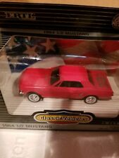 Ertl/Classic Vehicles 1964 1/2 Ford Mustang Coupe Red 1/43 Scale
