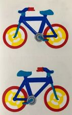 BICYCLE Stickers(4pc)Mrs.Grossman's •Bike•Ride•Exercise•Childhood•Copyright 1989