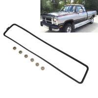 Tappet Cover Gasket + Grommet Seals For 1989-2002 12V Dodge Cummins 5.9 3284623