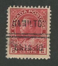 """CANADA PRECANCEL """"HAMILTON"""" 1-106"""
