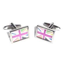 Multicolor Cool Britannia Union Jack Bandera Gemelos Con Bolsa De Regalo Uk Nuevos