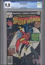 Spider-Woman #1 CGC 9.8 1978 Marvel Comics New Origin & Marv Wolfman Story