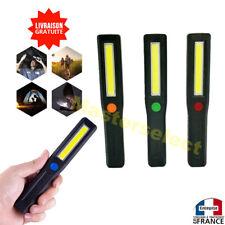 Lampe torche baladeuse COB avec dos magnétique puissante compacte