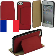 Etui-support pour Apple iPhone SE (rouge)