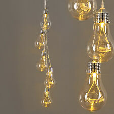 5 Warm White LED Edison Style Bulb Cluster Hanging Ceiling Pendant Ceiling Light