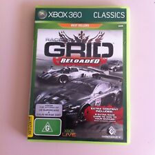 RACEDRIVER GRID Reloaded - Xbox 360 Game - AUSSIE SELLER - FREE POSTAGE