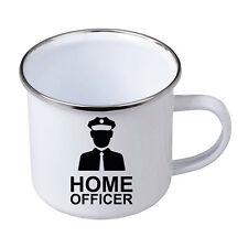 Fun Emaille Tasse Becher Homeofficer 01 Büro Home Office Nerd