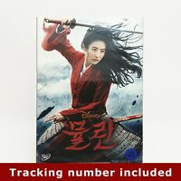 Mulan (2020) . DVD w/ Slipcover