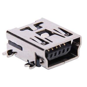 USB Mini Type B femelle a Souder SMD SMT Connecteur Assemblage Prise