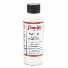 Angelus Matte Acrylic Finisher in 4 oz bottle