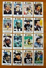 1984 Pittsburgh Steelers Police Football Card Set