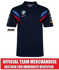 BMW Motorrad Superbike WorldSBK Official Team Polo Shirt - S1000RR NEW