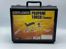 Chicago Welding 91899 Propane Torch Kit with 3 Burners