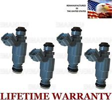 Set Of 4 Flow Matched Fuel Injectors For Genuine Hyundai Kia  2.4L 35310-38010