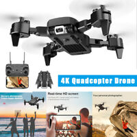 Quadcopter Drone 1080P HD WIFI FPV Camera High Altitude Hold Foldable +2 Battery