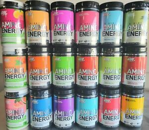 Optimum Nutrition - Essential Amino Energy Pre Workout 65 Servings 8 Flavors New