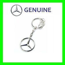 OEM  Genuine Mercedes Benz Brussel Silver Keyring Key Chain Chrom B66957516